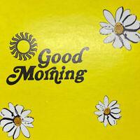 Vintage Hotel Upson Coffee Shop Breakfast Menu Wisconsin Daisy Flower