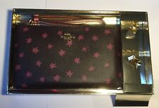 Coach Large Wristlet with pink stars and charms F38647