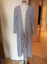 Eden Rock Long Jacket Size M BNWT Beige Linen RRP £93 Now £42