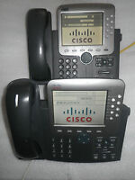 Cisco CP-7970G 7970 Unified IP VoIP Telephone Phone Color **1-YR Warranty!**