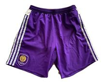 Adidas Orlando City Mens Size S Small Soccer Shorts Climacool Preowned*