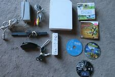 Nintendo Wii Console with 5 Games