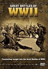 GREAT BATTLES OF WWII - DVD - REGION 2 UK