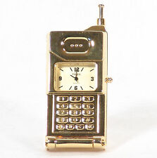 Timex Collectible Mini Clock  in Box - Old Fashion Cell Phone - Free Standing