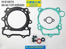 Pochette de joints haut moteur Yamaha 400 YZF/WRF 98/99