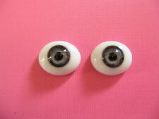 Reborn Doll Glass Eyes GREY # 1 Size 20mm