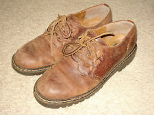 Timberland Brown Leather Womens Oxford Shoes Size 7M