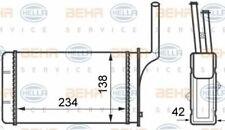 Radiator Heat Exchanger 8FH351024-461 / AH 49 000S by Behr - Single