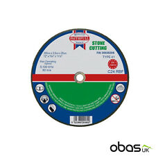 10 x Stone Cutting Disc Flat Blade 300mm x 3mm