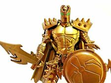 "McFarlane Toys '96 Medieval Warrior Spawn GOLD Variant 5.75"" Action Figure Loose"