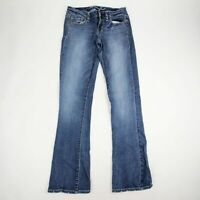 American Eagle Outfitters Women's Skinny Kick Jeans Size 2 Super Stretch