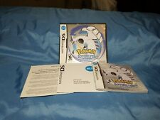Pokemon SoulSilver Version for Nintendo DS, CASE AND MANUALS ONLY  (NO GAME)