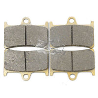 2 Pair Motorcyle Fornt Disc Brake Pads Fit For Yamaha YZF600 R6S 2008-2009 New