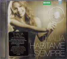 Thalia Habitame Siempre CD New Nuevo sealed