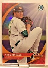 2016 BOWMAN CHROME ARIZONA FALL LEAGUE SUB SET SEAN MANAEA ATHLETICS         WM5