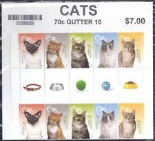 Cats Australian Stamps