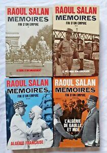 Mémoires de Raoul Salan 4/4 Algérie de Gaulle Indochine Guerre