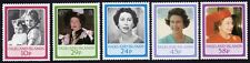 FALKLAND ISLANDS 1986 QE2 60th Birthday 5v set MNH @S4518