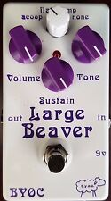 BYOC Effects Large Beaver Pedal New ASSEMBLED Triangle V1 Specs