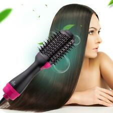 2In1 1000W One Step Hair Dryer Volumizer Brush Straightening Curling Comb 60Hz