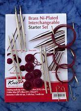 KnitPro Nova Métal Starter interchangeables circulaire aiguille à tricoter Set