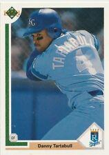 Danny Tartabull Royals - Outfielder 1991 Upper Deck Card # 523 14 yrs in MLB