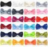 Satin silky bow tie Dickie  neck bowtie NEW, wedding prom fancy dress etc