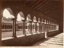 Italia, Verona Basilique san Zeno, Chiostro dell' antico Monastero Vintage