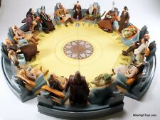 Star Wars Saga Jedi High Council Depa Billaba, Yaddle, Oppo Rancisis, Even Piell