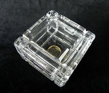 Gerity Products LEAD CRYSTAL TRINKET RING JEWELRY BOX 1986 Electro Plate