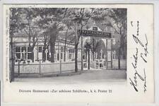 AK Wien II, Prater, Restaurant Zur schönen Schäferin 1904