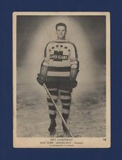 1939-40 O-Pee-Chee V301-1 Art Chapman #18 New York Americans (5 X 7) Card !