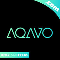 AQAVO.com is A Cool 5 Letter Brandable Domain Name for Sale! + LOGO