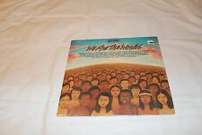 """WE ARE THE WORLD-12"""" Single with Various Artists  Mostly SEALED"""