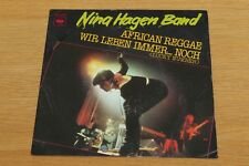 "Nina Hagen Band - African Reggae - 7"" Vinyl Single - CBS Records CBS 8200"