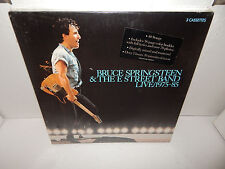 BRUCE SPRINGSTEEN & E Street Band Live 1975-85 3 Cassette 36pg booklet SEALED