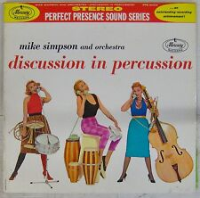 Pochette Téléphone 33 tours Mike Simpson Discussion in percussion