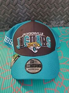 NEW Era JACKSONVILLE JAGUARS SIDELINE STRETCH FIT HATS - EMBROIDERED Size M/L