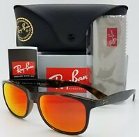NEW Rayban sunglasses RB4202F 710/6S 57mm Tortoise Red Mirror Polarized GENUINE