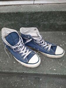 Converse All Star Chucks Made In USA Gr. 8 (42),  1990er  Vintage, blau