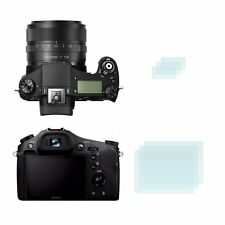 2 display clear Screen protectors for  Sony Cyber-Shot DSC-RX10 II