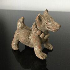 Sculpture Statue Antiquité CHINE Chien en Terre Cuite Antique Dog China