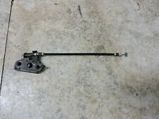 05 Triumph Rocket III 3 2300 seat mount latch and cable cabel