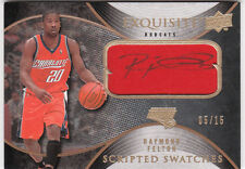 RAYMOND FELTON  07-08 Exquisite Scripted Swatches PATCH AUTO 5/15