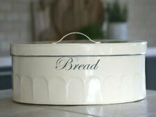 Chic Antique Brotkasten antik creme Brotbox Brocante Vintage Shabby Landhaus