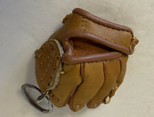 Mini Leather Ball Glove Key Chain
