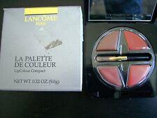 Lancome La Palette de Couleur LipColour Compact Les Cafes New in Box