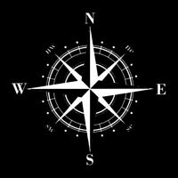 DIY Compass Vinyl Decal Car Sticker Decals Decorative Y5L2 CarWind X7R1 E3V5