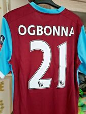 Match worn F A Cup Shirt Angelo Ogbonna West Ham season 2016-17 comes with a COA