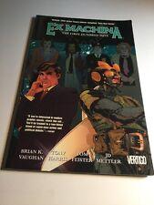 Ex Machina Vol 1 The First Hundred Days Tpb Nm Near Mint Vertigo Comics